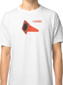 Autocross cone down, +2 seconds Classic T-Shirt