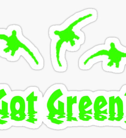Got Green? by Funny as Duck Sticker