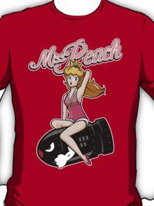 Miss Peach Pin-Up T-Shirt