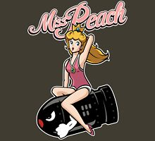 Miss Peach Pin-Up Unisex T-Shirt