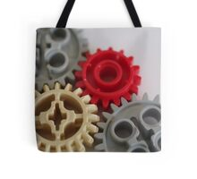 Lego gears Tote Bag