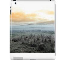 Fog rolling into the graveyard iPad Case/Skin