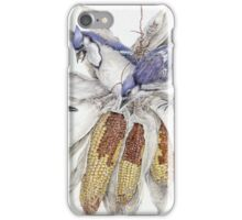 Blue Jays Gathering and Enjoying Their Favorite Meal iPhone Case/Skin