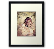 Autumn fairy spirit Framed Print