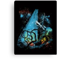 diving danger Canvas Print