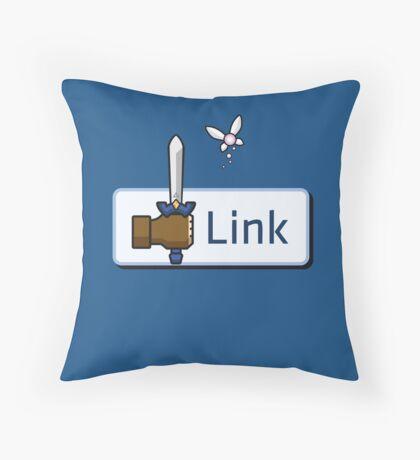 I Like Link Throw Pillow