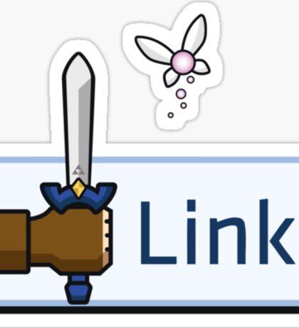 I Like Link Sticker