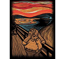 Scream in Quahog Photographic Print
