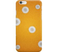 Autumn leaves and flowers iPhone Case/Skin