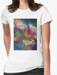 """""""Chimera"""" original artwork by Laura Tozer Womens Fitted T-Shirt"""