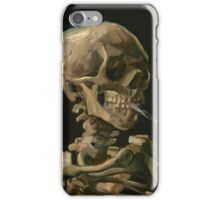 Head of a Skeleton with a Burning Cigarette Antwerp, January - February Vincent van Gogh  iPhone Case/Skin