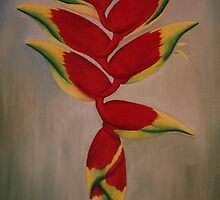 Heliconia Rostrata by Jan Vinclair