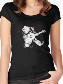 spacemarine.ROCK Women's Fitted Scoop T-Shirt