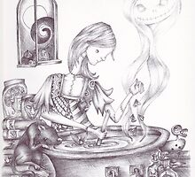 Sally Brewing Something by Heather Munro
