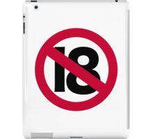 19th birthday iPad Case/Skin