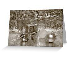 Christmas Card 3 (English) Greeting Card