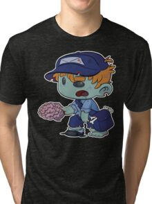 Neither Rain, Nor Death... Tri-blend T-Shirt