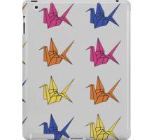 Paper Crane Pattern iPad Case/Skin