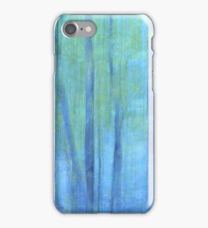 forest impressionism iPhone Case/Skin