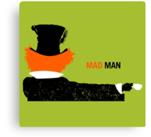 Mad Man Canvas Print