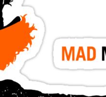Mad Man Sticker