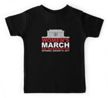 Women's March on Washington January 2017 Kids Tee