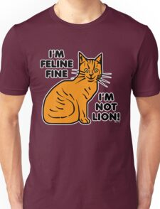 Funny Cat Pun Humor Unisex T-Shirt