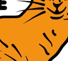 Funny Cat Pun Humor Sticker