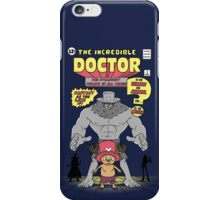 The Incredible Doctor iPhone Case/Skin