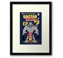 The Incredible Doctor Framed Print