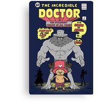 The Incredible Doctor Canvas Print
