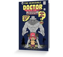 The Incredible Doctor Greeting Card