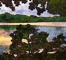 Vincent and I at the Lake by RC deWinter