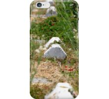 Abandoned Parking Lot iPhone Case/Skin