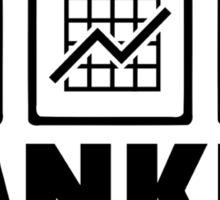 Banker Sticker