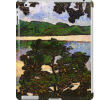 Vincent and I at the Lake iPad Case/Skin
