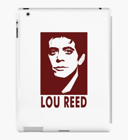 lou reed iPad Case/Skin