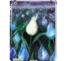 White Tulips Watercolor  iPad Case/Skin