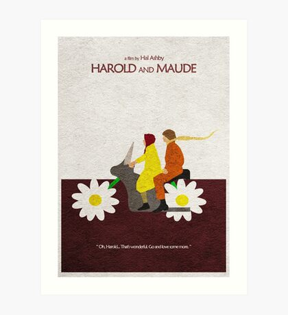 Harold and Maude Art Print