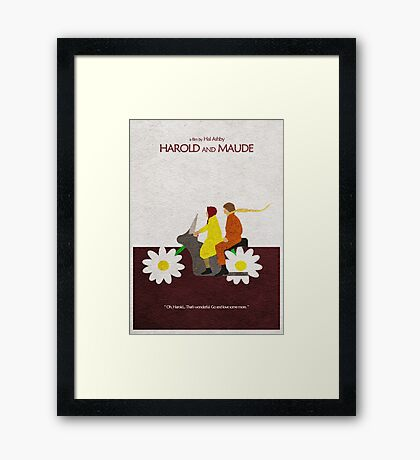 Harold and Maude Framed Print