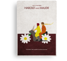 Harold and Maude Canvas Print