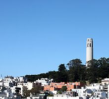 San Francisco Coit Tower by Henrik Lehnerer
