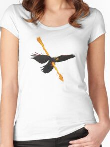 ambushed Women's Fitted Scoop T-Shirt