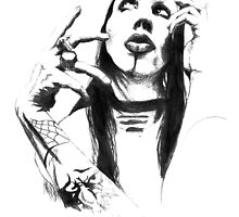 Pencil Manson by sdesigncs
