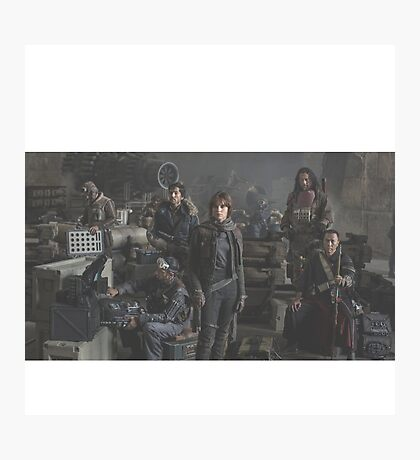 Star Wars Rogue One Characters Photographic Print