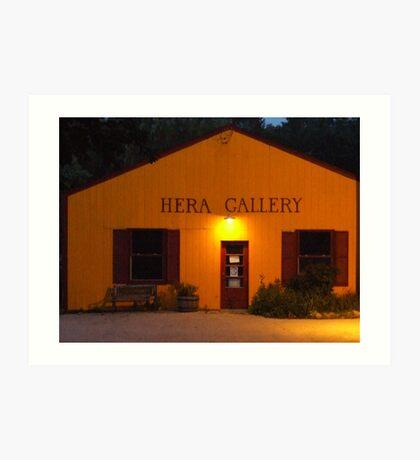 Hera Gallery, Wakefield Rhode Island at Sunrise 2 Art Print
