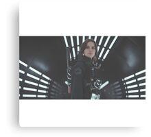 Star Wars Rogue One Jyn Erso Canvas Print