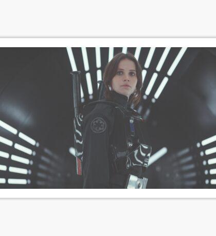 Star Wars Rogue One Jyn Erso Sticker