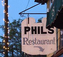 phil's restaurant wakefield rhode island by Maureen Zaharie