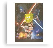 Rogue One SpongeBob SquarePants Canvas Print